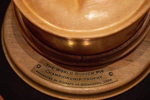 The Coveted World Scotch Pie Championship Trophy